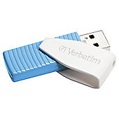 Verbatim Swivel USB Flash Drive 8GB - Blue