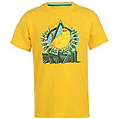 2014-15 Brazil Nike Core Plus T-Shirt (Yellow) - Yellow
