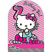 Hello Kitty Birthday Card - 7 Years