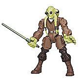Star Wars Hero Mashers Kit Fisto Figure