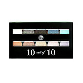 W7 10 out of 10 Eyeshadow Palette 10g