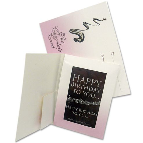 Happy Birthday Chocolate Card