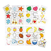 Bigjigs Toys BJ083 Shapes Puzzles Set 2 (Set of 4)
