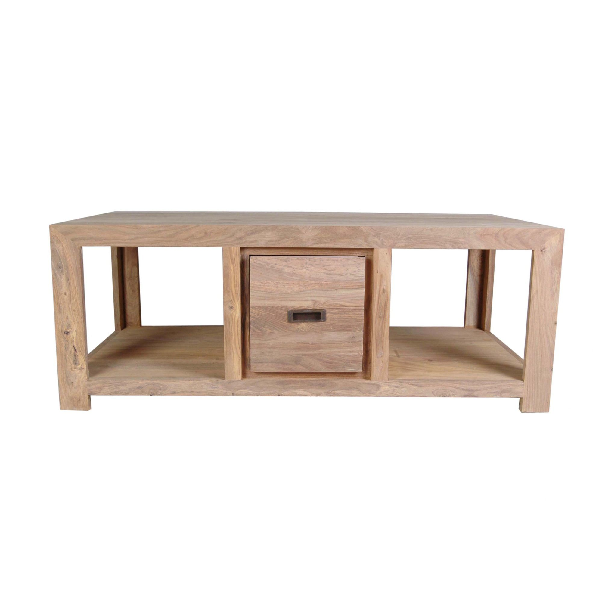 Wiseaction Lingfield Coffee Table with One Drawer at Tesco Direct