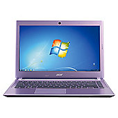 Acer Aspire V5-431 14 inch Intel Pentium Dual-Core, 4GB RAM, 500GB, Windows 8, Purple Laptop