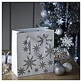 Medium Snowflake Christmas Gift Bag