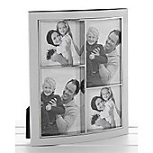 4 Aperture Collage Photo Frame - White