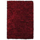 Angelo Bari Red Woven Rug - 290cm x 200cm (9 ft 6 in x 6 ft 6.5 in)