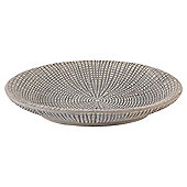 Tesco Grey Textured Soap Dish
