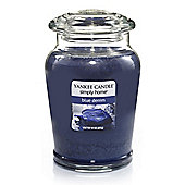 Yankee Candle Jar Blue Denim, Large