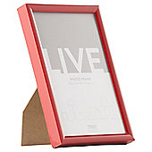 Tesco Basic Photo Frame Red 4 x 6""