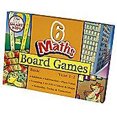 Smart Kids Six Maths Board Games - Basic