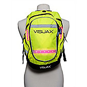 Visijax - LED Backpack - Hi Vis Yellow - Single Size