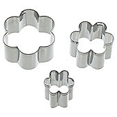 KitchenCraft Sweetly Does It Flower Shaped Fondant Cutters
