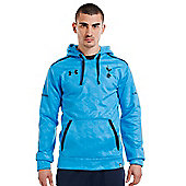 2013-14 Tottenham Hooded Top (Blue) - Blue