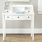 Safavieh Edgewood Bureau Desk with Hutch - White