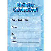 Dazzling Effects Invitations (16pk)