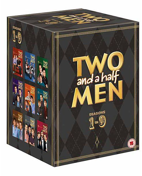 Two & A Half Men Seasons 1-9 (DVD Boxset)