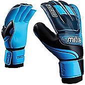 Goalkeeper Glove Mitre Zirconium - Black & Blue