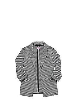 F&F Striped Jersey Blazer - Multi