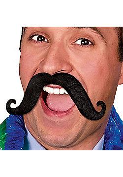 Fiesta Moustache - Black