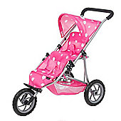 Mamas and Papas Double Decker Dolls Pushchair - Strawberry Snow