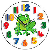 Smith & Taylor Happy Frog Children's Wall Clock