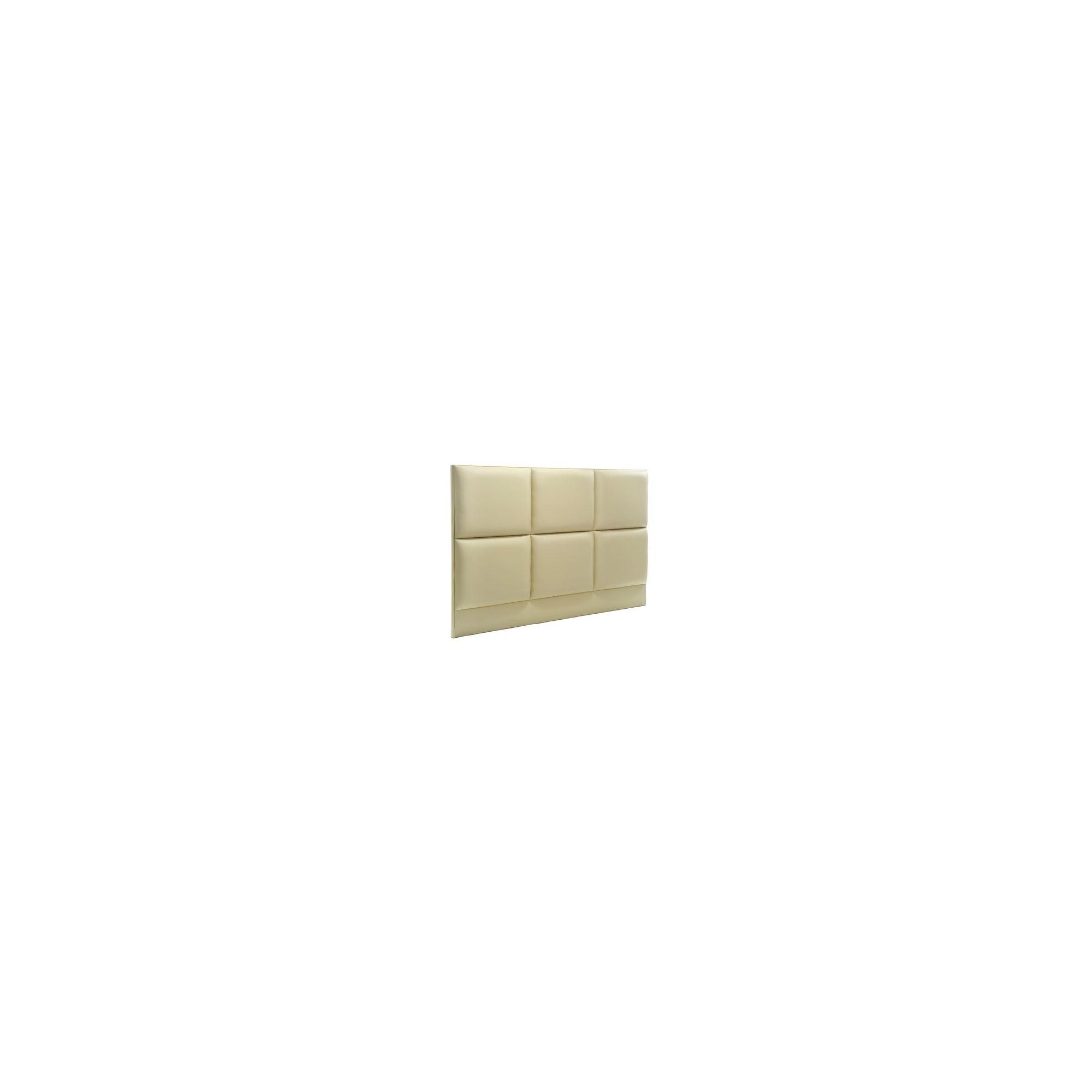 PC Upholstery Columbo Headboard - Kansas Cream - 6' Super King at Tesco Direct