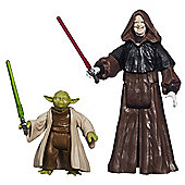 Star Wars Mission Series Figure Set (Yoda and Darth Sidious) MS04