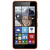 Tesco Mobile Microsoft Lumia 640 Orange