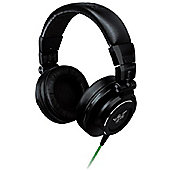 Razer Adaro DJ Headphones (Black) powerful high-performance 50mm dynamic drivers designed for DJs comfortable yet durable construction