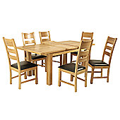 Elements Edmonton 7 Piece Dining Collection