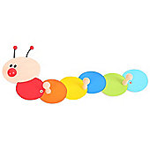 Bigjigs Toys BJ979 Coat Hook (Caterpillar)