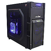 Cube Corporal Gaming PC AMD A10 7700K Quad Core with Radeon R7 Graphics & 16Gb Memory Desktop AMD A Series Quad Core Seagate 1Tb 7200RPM Hard Drive Wi