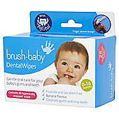 Brush Baby Dental Wipes 28 Pack