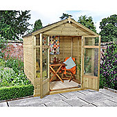 7ft x 5ft Bloxham Summerhouse 7 x 5 Garden Wooden Summerhouse 7x5