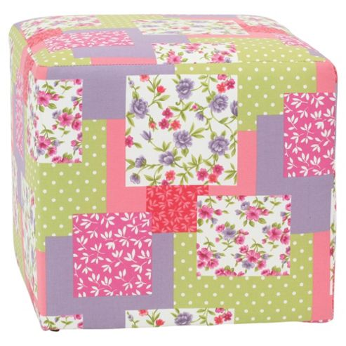 Fabric Cube Patchwork