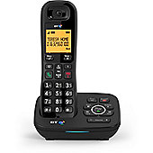 BT 1700, Single, Digital Cordless Telephone with Answerphone, Black
