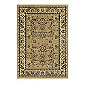 Oriental Carpets & Rugs Heritage 0993A Beige Rug - 80cm x 140cm