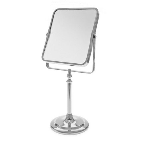 Blue Canyon Chrome Pedestal Rectangular Mirror