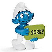Schleich Smurfs Sorry Smurf 20749