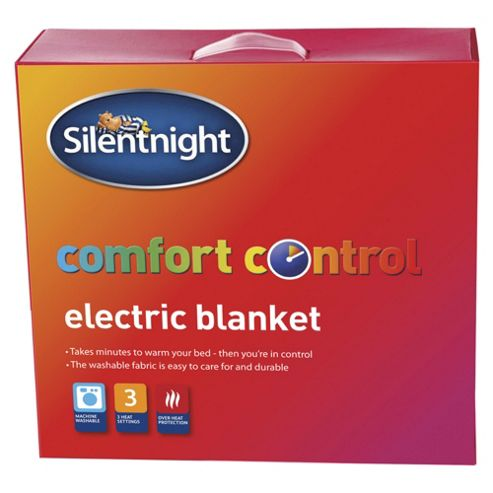 buy silentnight double electric blanket from our electric. Black Bedroom Furniture Sets. Home Design Ideas
