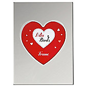 Tesco Heart Photo Frame Silver