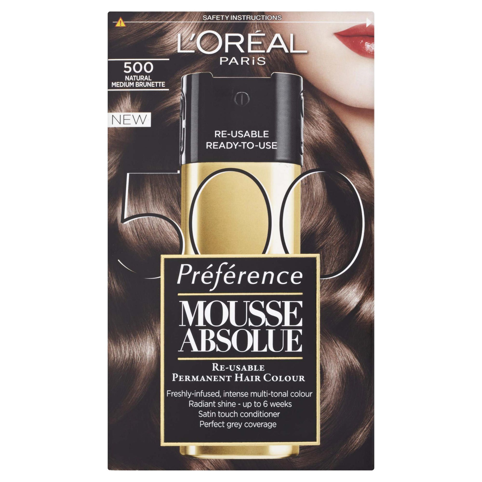 L'Oreal Mousse Absolue Natural Medium Brunette 500