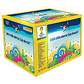 2014 FIFA World Cup Brazil Stickers - Box of 100 Packs