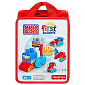 Mega Bloks Build N Learn Zoomin Vehicles Bag