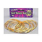 Bristol Novelty - Gold Bangles