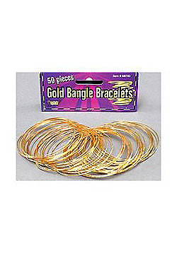 Bristol Novelty - Gold Bangles