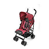 Your Baby - California Baby Buggy/Pushchair Red & Parasol Black.