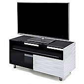Off-The-Wall Contour 1000 WD White TV Stand